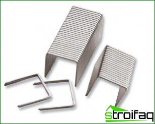 Guidelines for choosing staples for a stapler