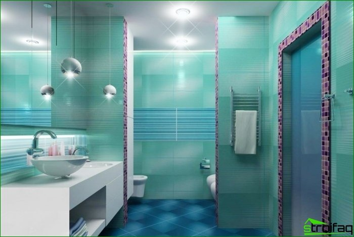 The main stages of repair in the bathroom