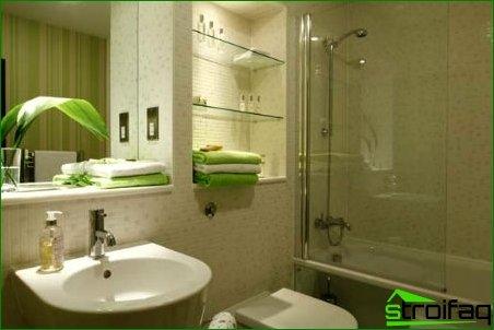 Combined bathroom design