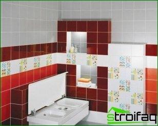 Cómo elegir un diseño de azulejos en el baño (Parte 1)