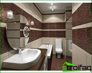 Bathrooms in different styles: what a bathroom looks like in Art Deco