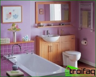 Painting the walls in the bathroom (Part 2)