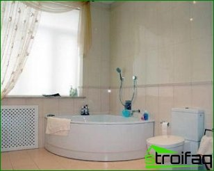The importance of plumbing to create an interior in the bathroom and toilet