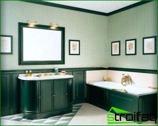 How to choose bathroom furniture