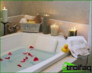 Sobre las bañeras y su valor estético.