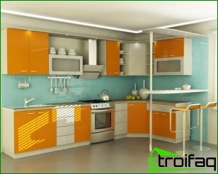 Recommendations for the design of the kitchen