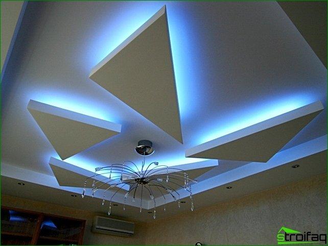 Reparación de techos: iluminación interior LED