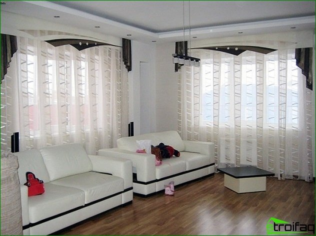 Types of modern curtains