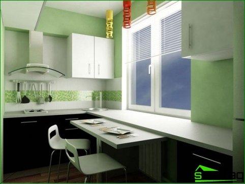Características de la disposición de la cocina.