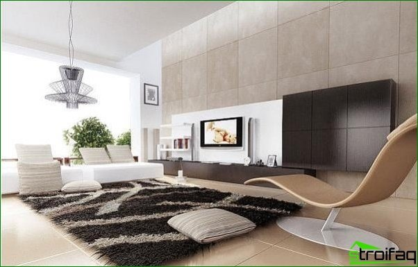 Las alfombras y su papel en el interior moderno.
