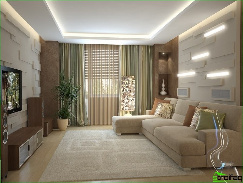 The choice of apartment design