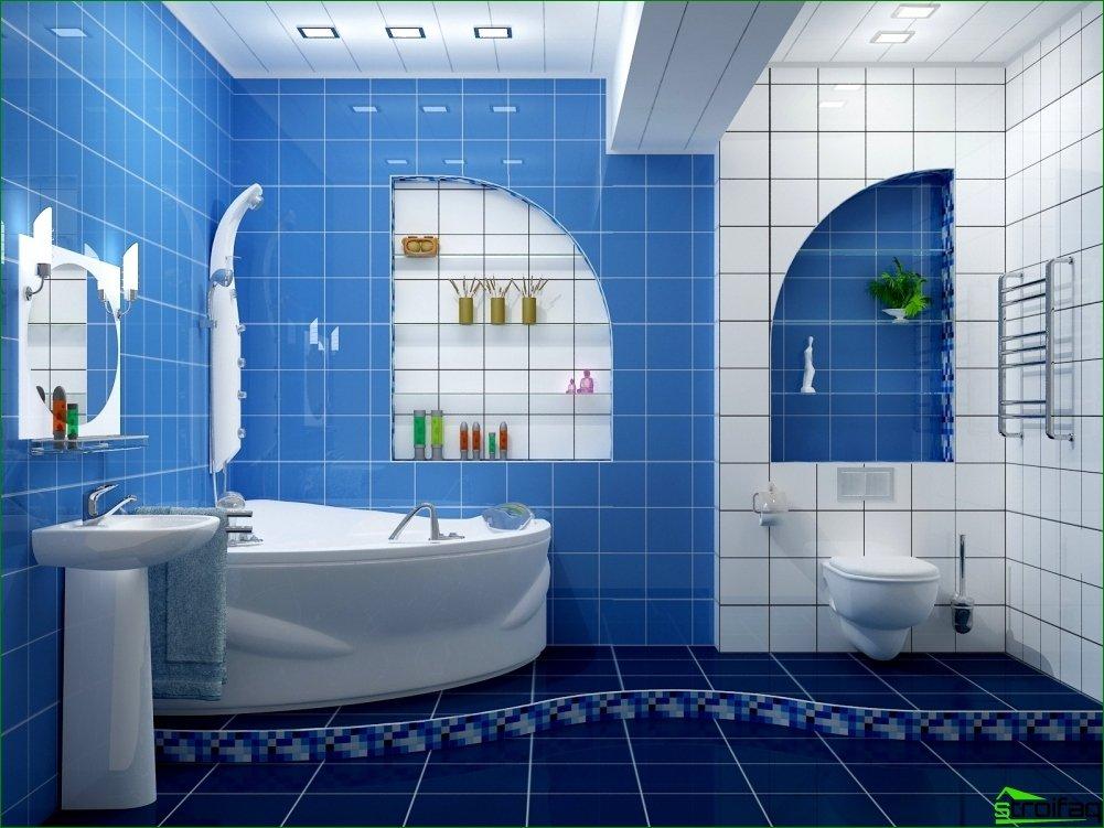Reparación en el baño: etapas de preparación
