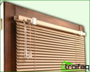 Recommendations for choosing blinds