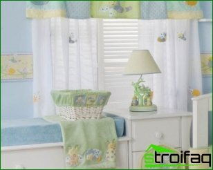 Roller blinds - a practical solution for a child's room