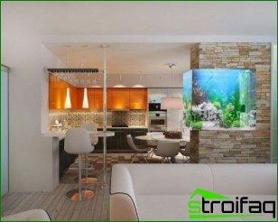 Interiorismo cocina-salón