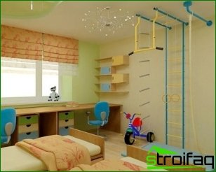 Recommendations for the design of a room for a child