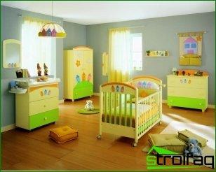 Cómo preparar una habitación para la apariencia del bebé.