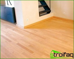 Varieties of wood floor