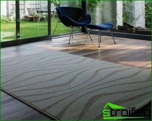 Carpet for modern housing