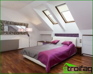 Recommendations for interior decoration in the bedroom