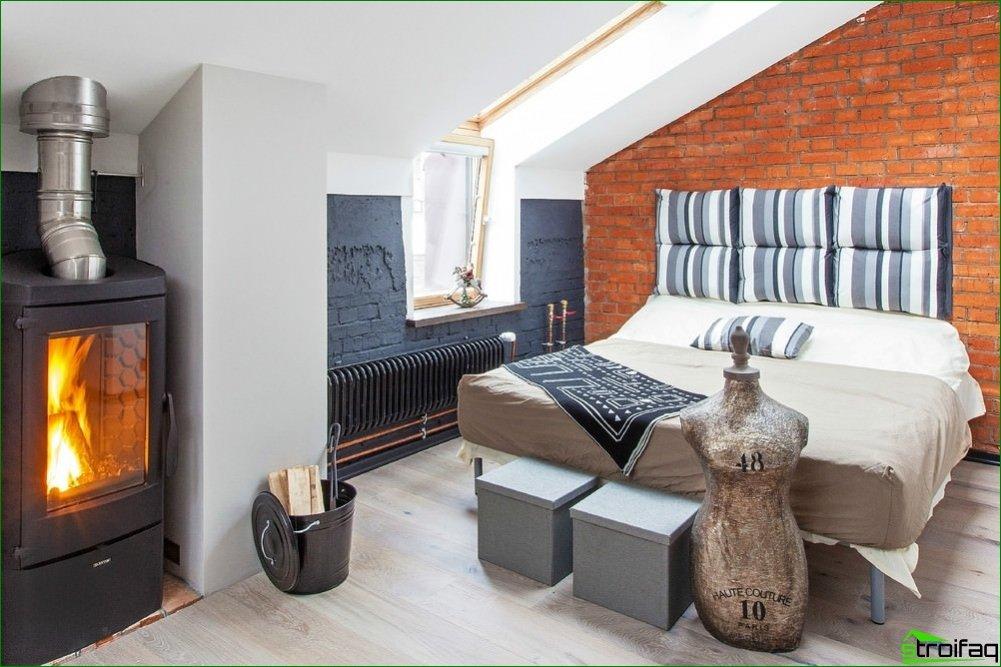 Recomendaciones para la decoración de interiores en el dormitorio.