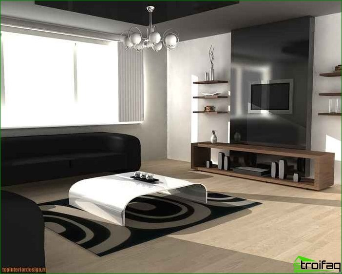 How to make an interior rich inexpensive