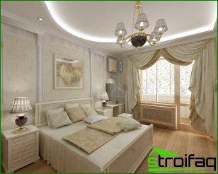 Hacer una habitación en un estilo clásico