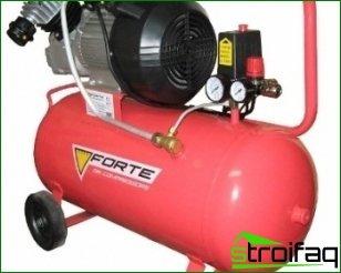 Luftkompressorer og deres hovedtyper