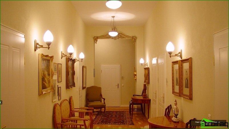Seleccionamos una lampara en el departamento