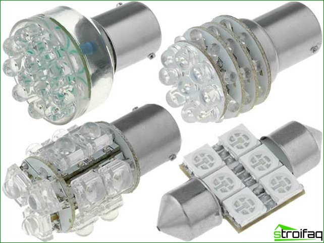 LED lamps - modern lighting sources