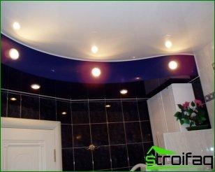 Iluminação do banheiro
