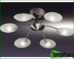 ¿Cómo elegir una lámpara de araña para el dormitorio?