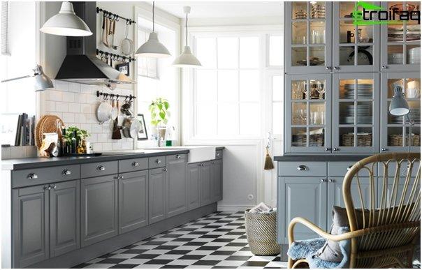 Ikean keittiökalusteet (Lattiakaapit) - 1