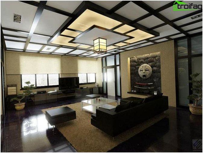 ภาพถ่ายการออกแบบเพดาน