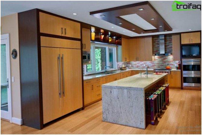 Diseño de techo de paneles de yeso