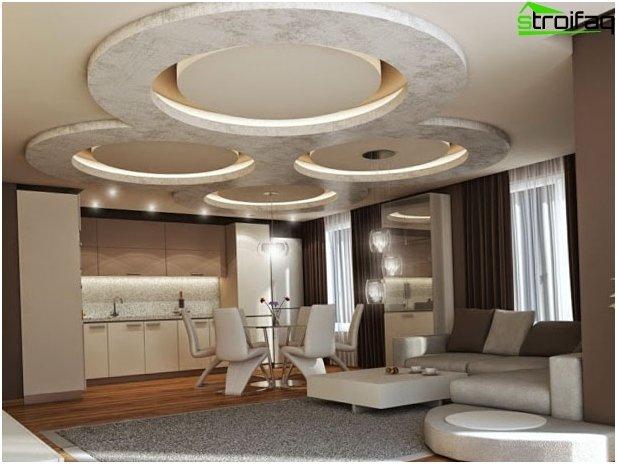 การออกแบบฝ้าเพดาน Drywall