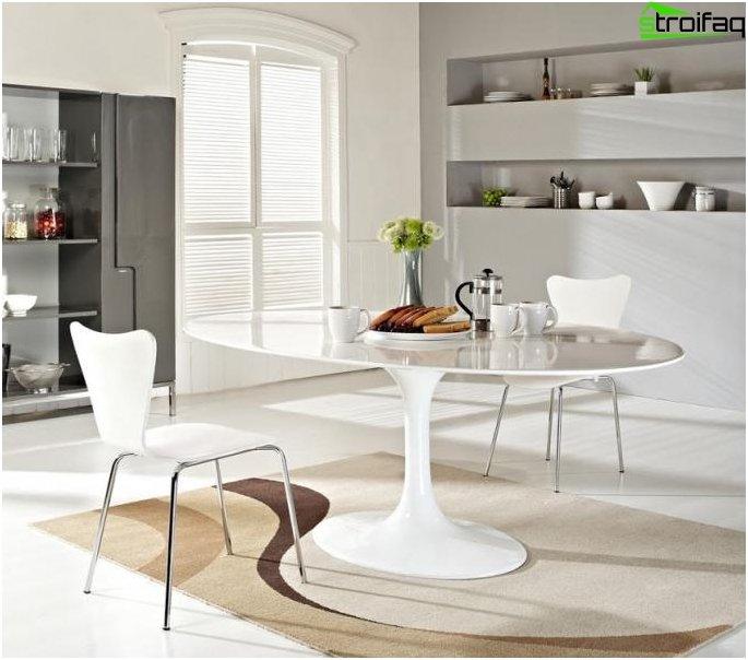 Ovale Tischplatten - Foto 3