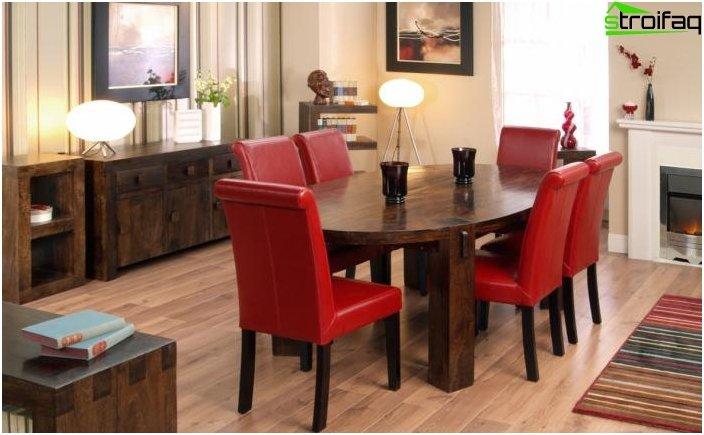 Ovale Tischplatten - Foto 4