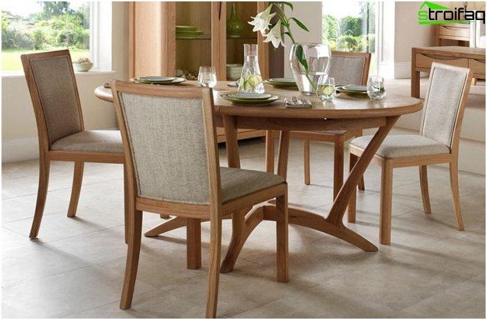 Ovale Tischplatten - Foto 5