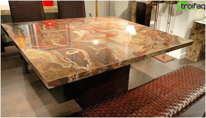 Quadratische Tischplatten - Foto 1