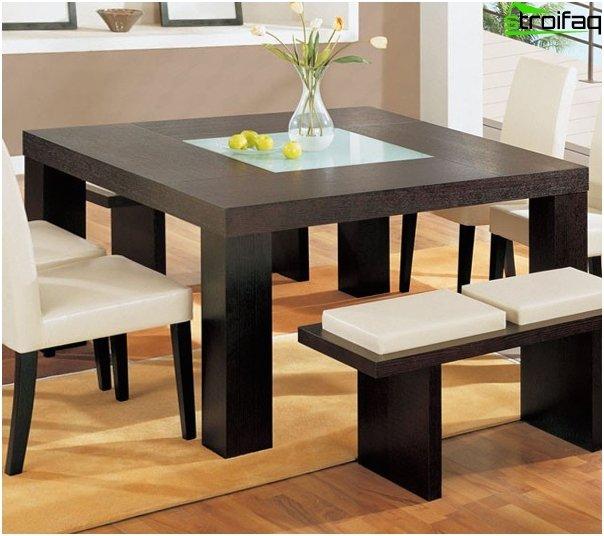 Quadratische Tischplatten - Foto 2