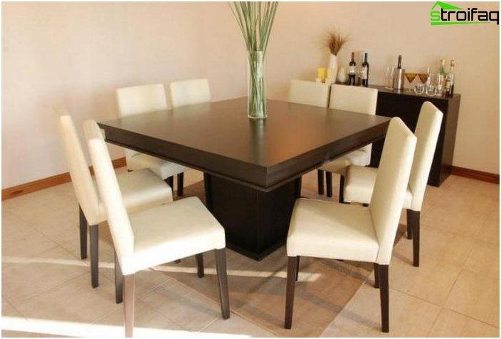 Quadratische Tischplatten - Foto 3