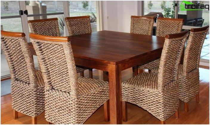 Quadratische Tischplatten - Foto 4