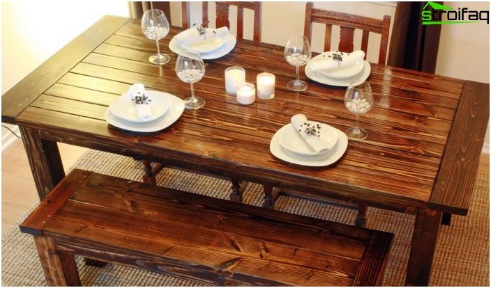 Dining table - photo 2