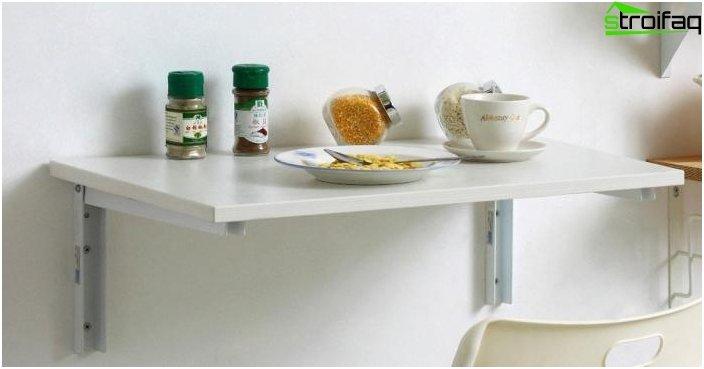 Wall table - photo 4
