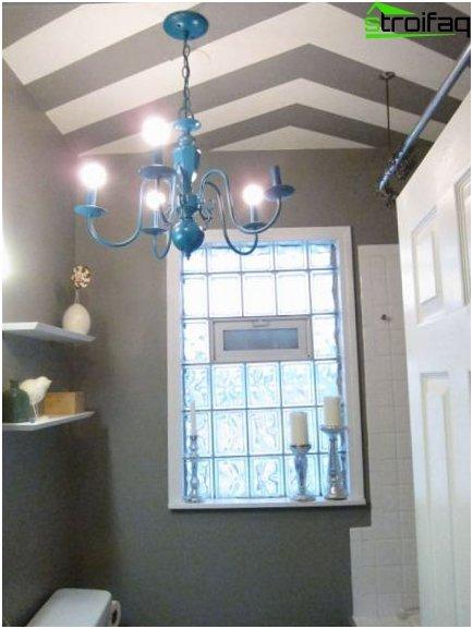 การออกแบบเพดานห้องน้ำ