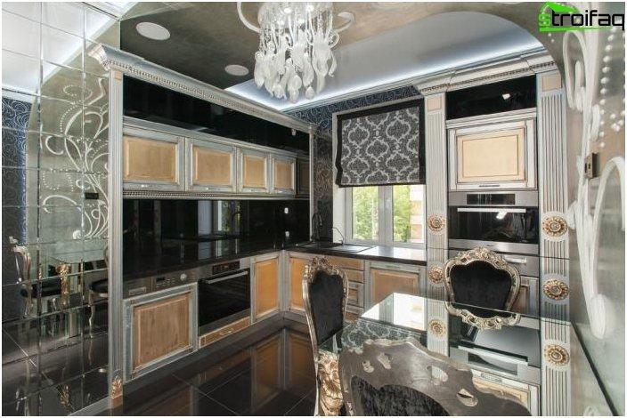 Art Deco hjørne køkken