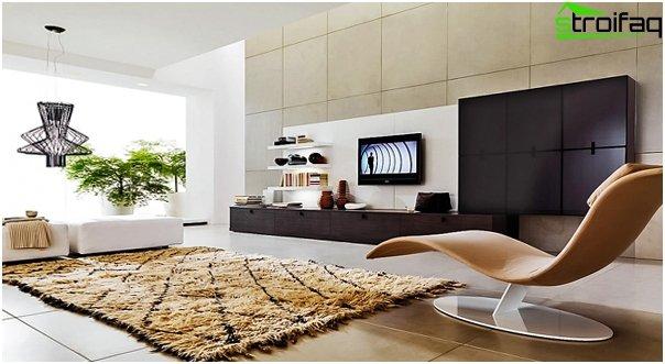Design af lejligheden 2016 (stue) - 4