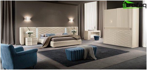 Design af lejligheden 2016 (soveværelse) - 2