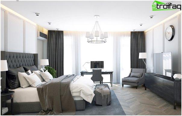 Design af lejligheden 2016 (soveværelse) - 3